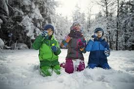 Grade 1 & 2  Outdoor Winter Fun