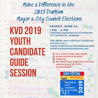Youth can Make an Impact in this Election - Candidate Guide Event