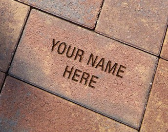 Engraved Paver Fundraiser