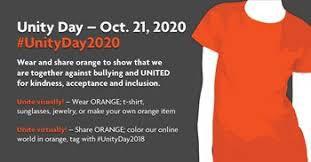 Unity Day – Wednesday, October 21, 2020