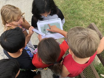 Latitude and Longitude Scavenger Hunt