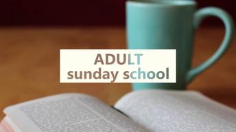 New Adult Sunday School Class