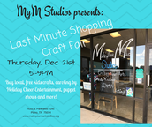Last Minute Craft Fair