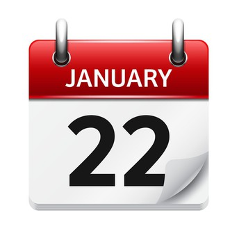 Schedule Change for Friday, January 22