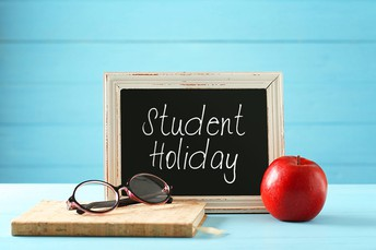 Student Holiday Monday, October 12, 2020 - NO SCHOOL for ALL