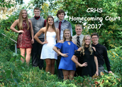CRHS Homecoming Court 2017