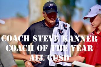 All CUSD Boys Golf Coach of the Year