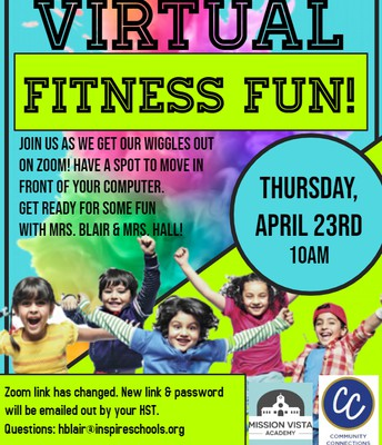 VIRTUAL Community Connections FITNESS FUN!