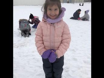 Outdoor fun in Kindergarten!