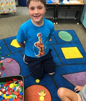 Joshua made a bunny!