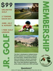 Jr. Golf Membership