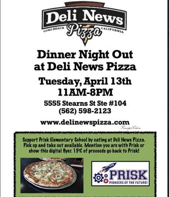 Deli News: Tuesday, April 13th