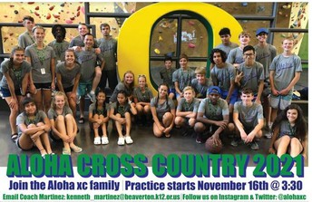 Join Cross Country - Find the meaning of life.