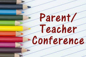 Parent Conference 10/24 and 10/25