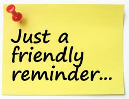 Rawlinson Reminders