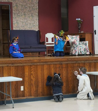 In what will surely become a highlight for their school year, our 2/3 class put on a performance of Peter and the Wolf this week in Rand Hall.