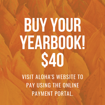 Buy your yearbook today!
