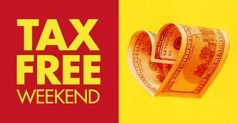 Ohio Sales Tax Free Weekend is this Fri - Sun