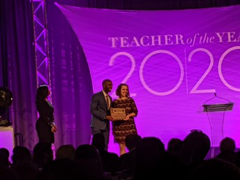 2019-2020 Partee ES Teacher of the Year