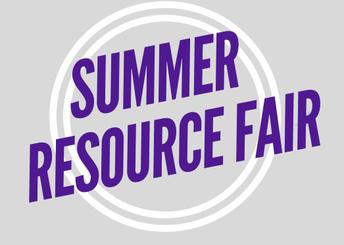 D44 Summer Resource Fair- April 24th