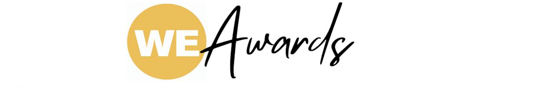 WE Awards logo