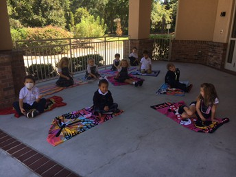 Story time outside!