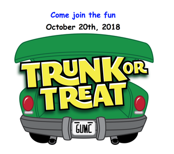 Trunk or Treat - This Saturday 10/20