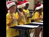 Chime Choir at Kroger's