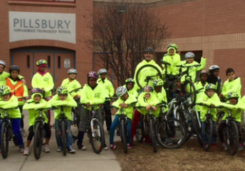 MPS Bike Fleet Delivered to Tplus Bike Repair Program