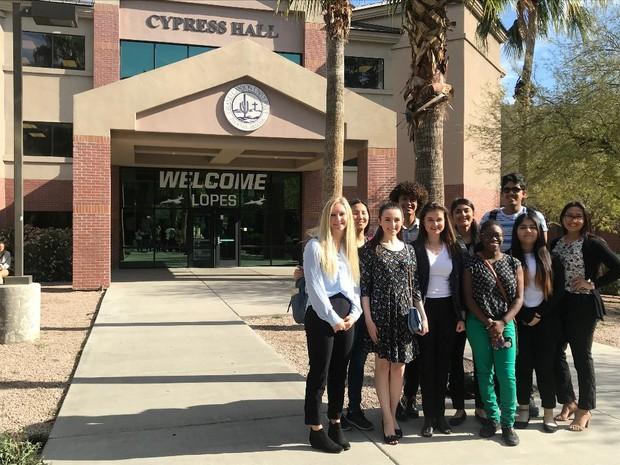 CHS IB Students at GCU