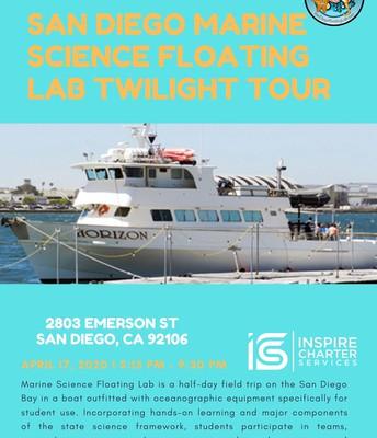San Diego Marine Science Floating Lab Twilight Tour