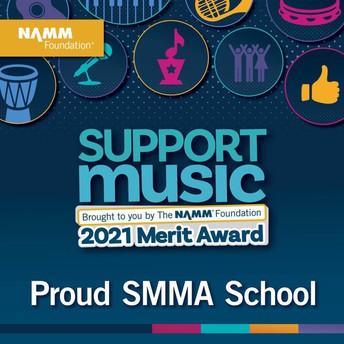 Award from NAMM 2021
