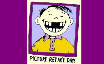 Re-Take Day - Monday Nov. 23rd
