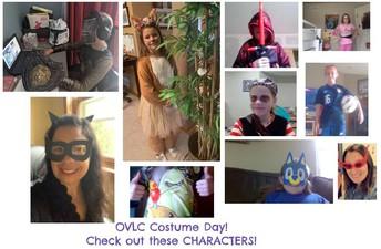 OVLC Costume Spirit Day!