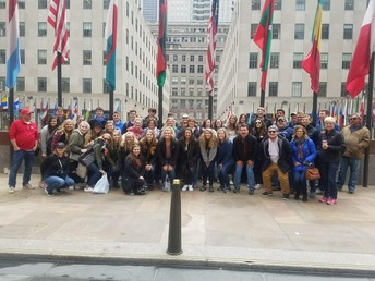 CCHS student's in NYC!