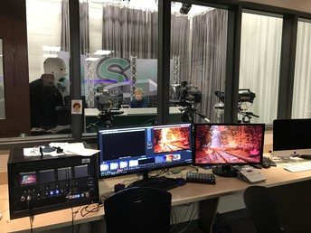 Control Room for STTV