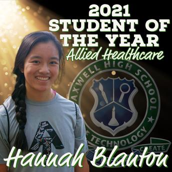 Hannah Blanton, Allied Healthcare SOY