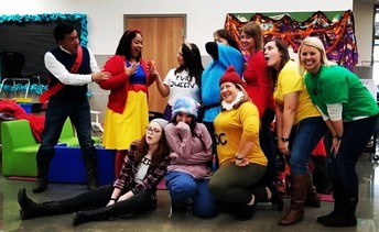 Second Grade Snow White and the Seven Dwarfs