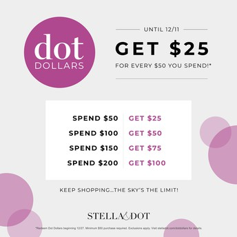 Those with WISHLISTS deserve DOT DOLLARS TOO!