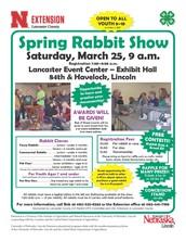 Spring Rabbit Show - Lancaster Event Center