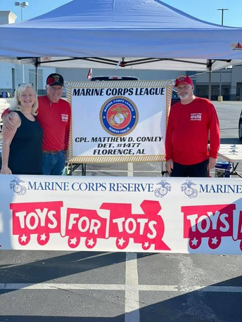 Toys for Tots Registration: Saturday, December 5