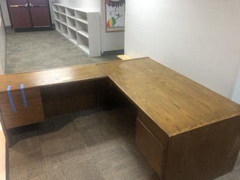 Desk - 2 pieces