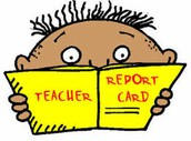 Thursday, April 13th ~ Report Cards Go Home