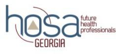 HOSA Georgia logo