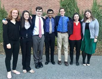 WHS Speech-Debate students