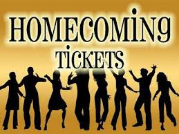 Homecoming Tickets on sale now!