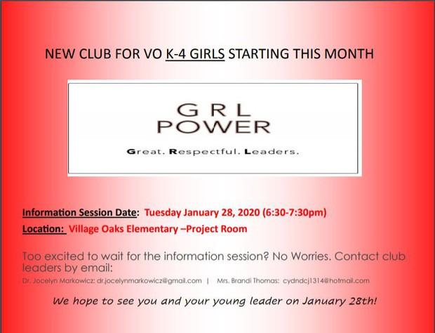 GRL Power Flyer
