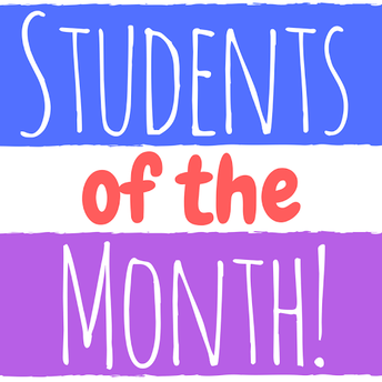 Students of the Month- February
