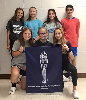Grissom's Newly Elected NJHS Officers