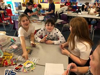 The children enjoyed their well earned reward...